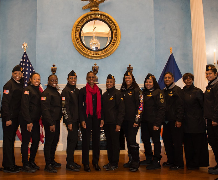 NABMW Brooklyn meets the First Lady of New York City