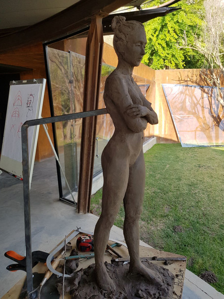 Sculpting Course  December 2018 with Brian Booth Craig