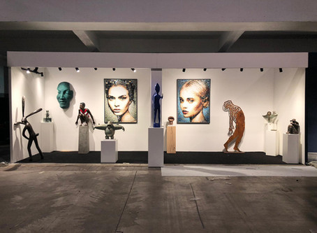 Exhibition in Sint-Martens Latem, Belgium within the Boutique Gallery until end January 2019