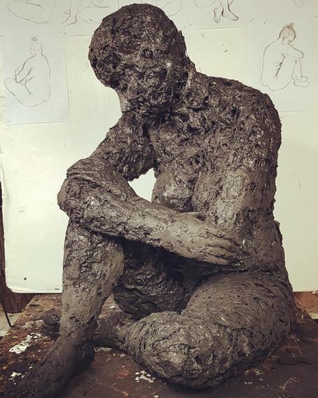 Life-size sculptures