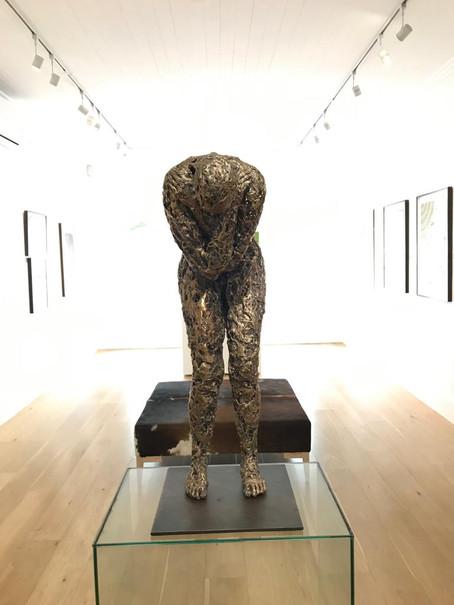 Bronzes in Ebony Gallery Franschhoek