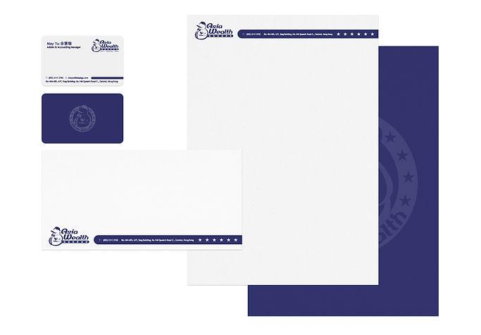 Stationery Design 信封信紙卡片設計