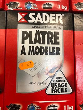 Plâtre à modeler 1kg