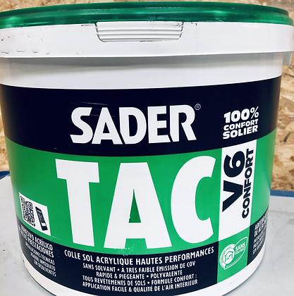 Sader TAC V6  moquette et PVC vinyle 20 kg