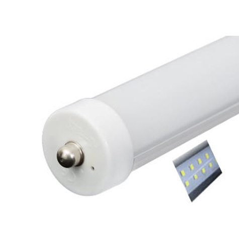 FA8 single pin 8 foot led tube frosted double row 72W T8