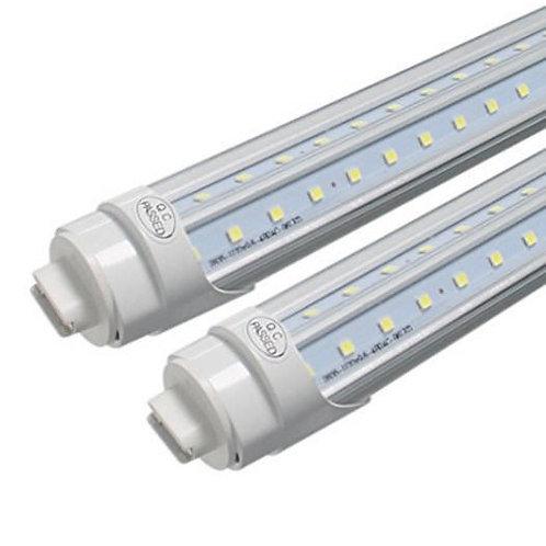 25-Pack, V-Shaped 72W HO / R17D 8ft LED tubes