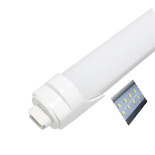 25-Pack, Frosted Covers, 8ft, Double Row 72W, HO/R17D Connector, T8 LED Tube