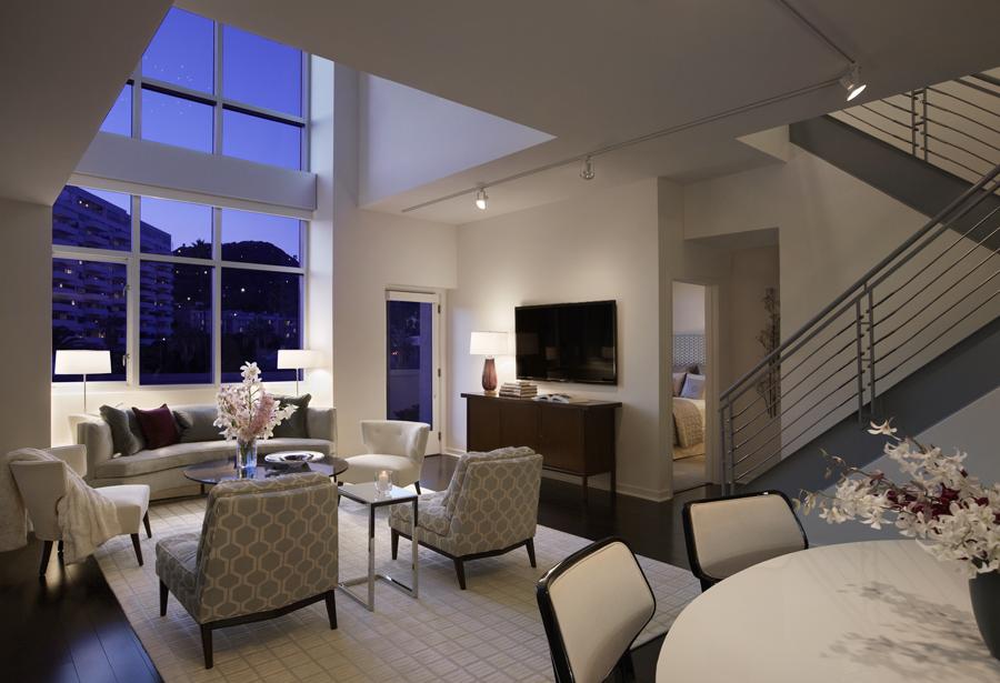 The Avenue Penthouse unit