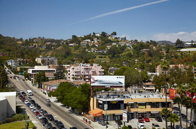 The Avenue views of Hollywood Hills