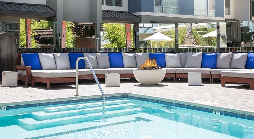 Poolside Social Area