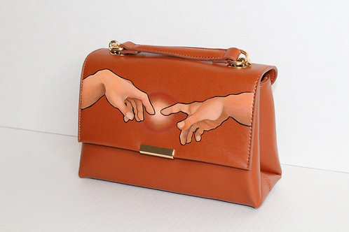 CREATION OF ADAM INSPIRED CROSSBODY BAG