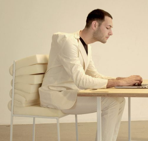 Dorota Gazy's Sedentary Lab: Clothing & Furniture for a Sedentary Lifestyle