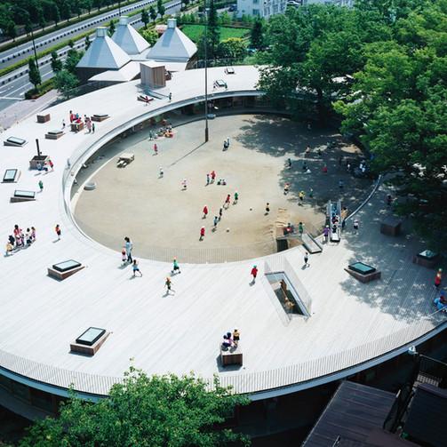 Fuji Kindergarten: Child-Friendly Rooftop