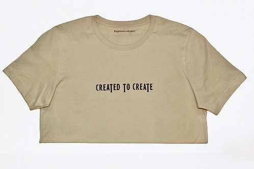 """CREATED TO CREATE"" T-shirt"