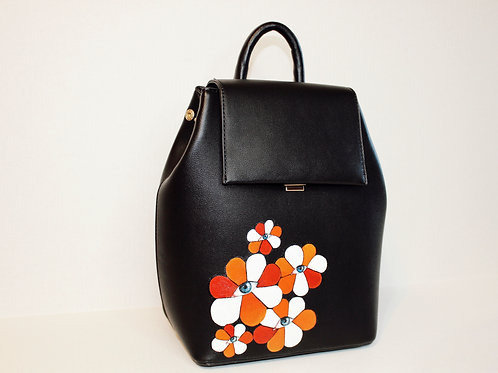 Eye flower backpack