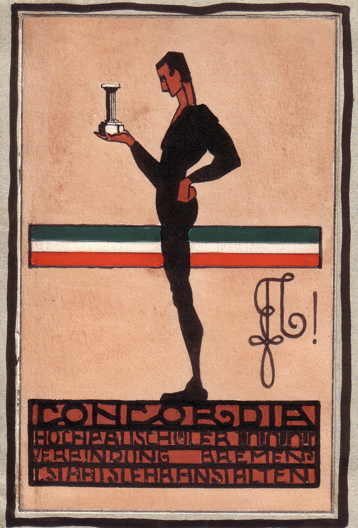 Couleurcarte aus den 20ern