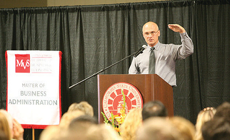 Puzder Speaks at Cal State University Channel Islands