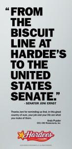 Joni Ernst Des Moines Register Ad