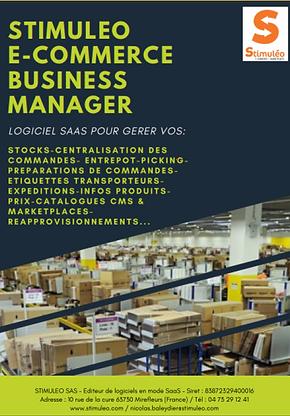 STIMULEO E COMMERCE BUSINESS MANAGER COU