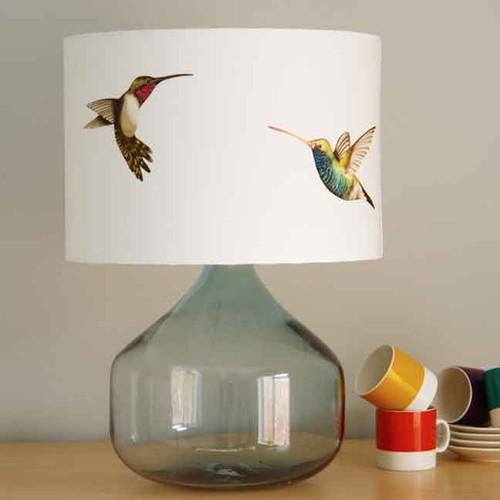 Handmade lampshades by Kooky Bird