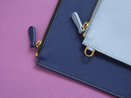 The Mighty Saffiano Pouch