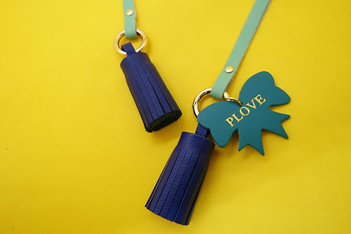 Tassels of Grace - Navy Blue & Teal Strap
