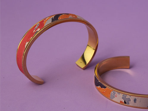 Metallic Marble Bracelet