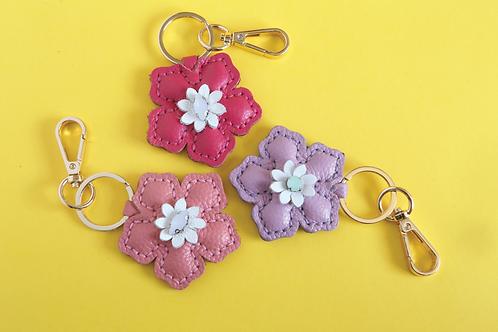 Summer Blooms Keychain