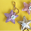 Thumbnail: Summer Hearts and Stars Keychain