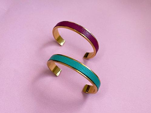 Lux Leather Bracelet