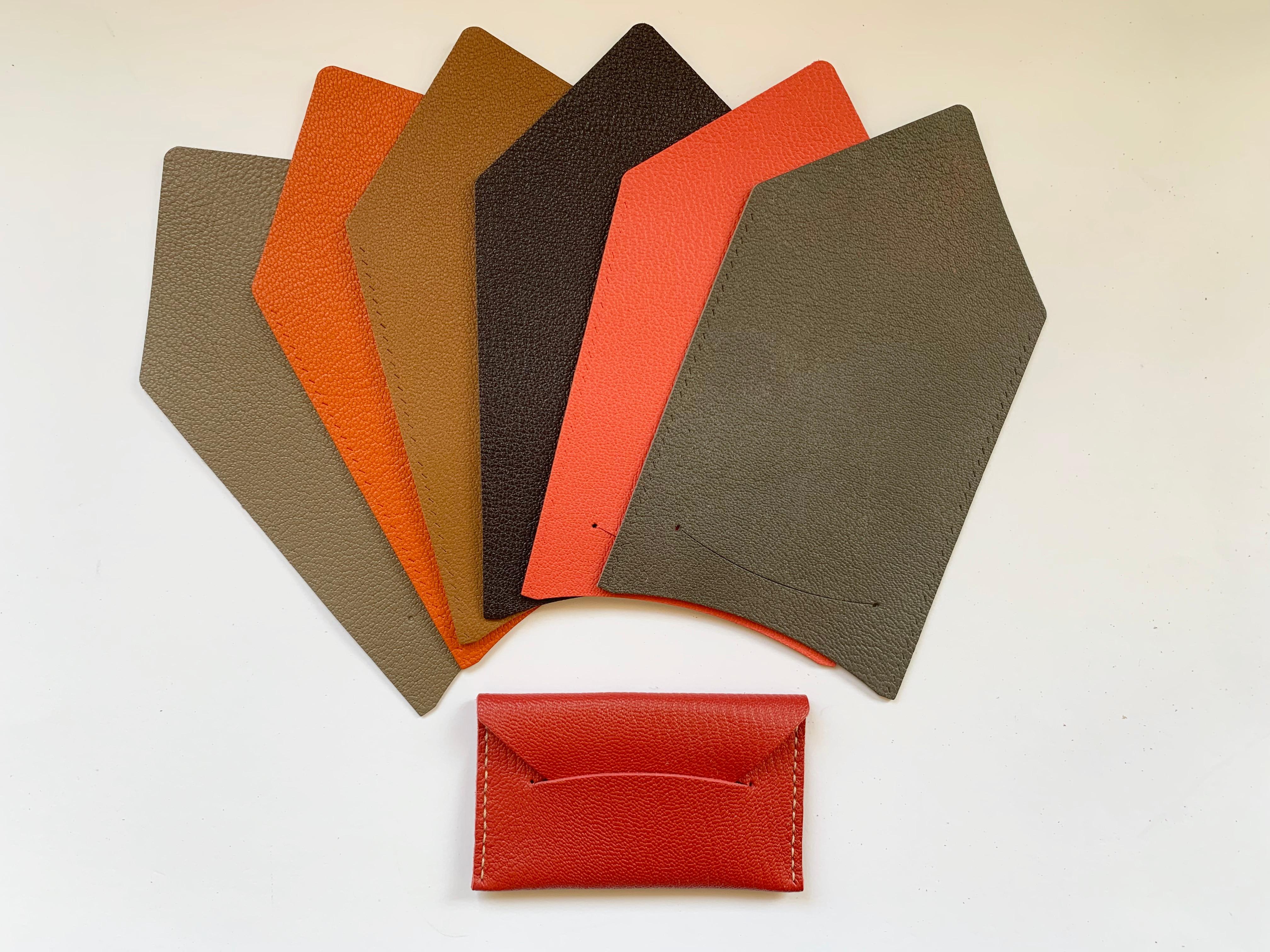 Basic Leather card sleeve workshop