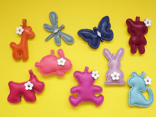 Candyland Animal Keychains