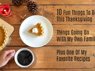 Things To Do In Metro Atlanta At Thanksgiving Plus One of My Favorite Recipes!