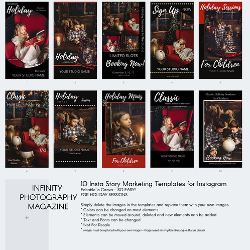 Holiday Minis - Marketing Template