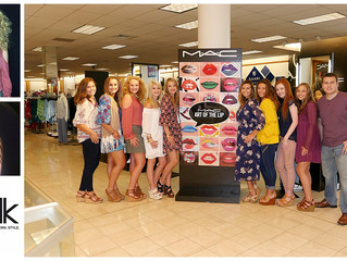 Back to School Event at MAC Cosmetics, Belk Marietta with our newest Teen & Senior Model Reps