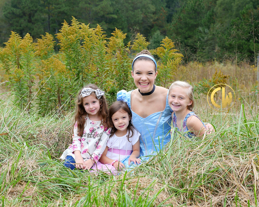 Cinderella from Marietta, Ga available for childrens birthday parties