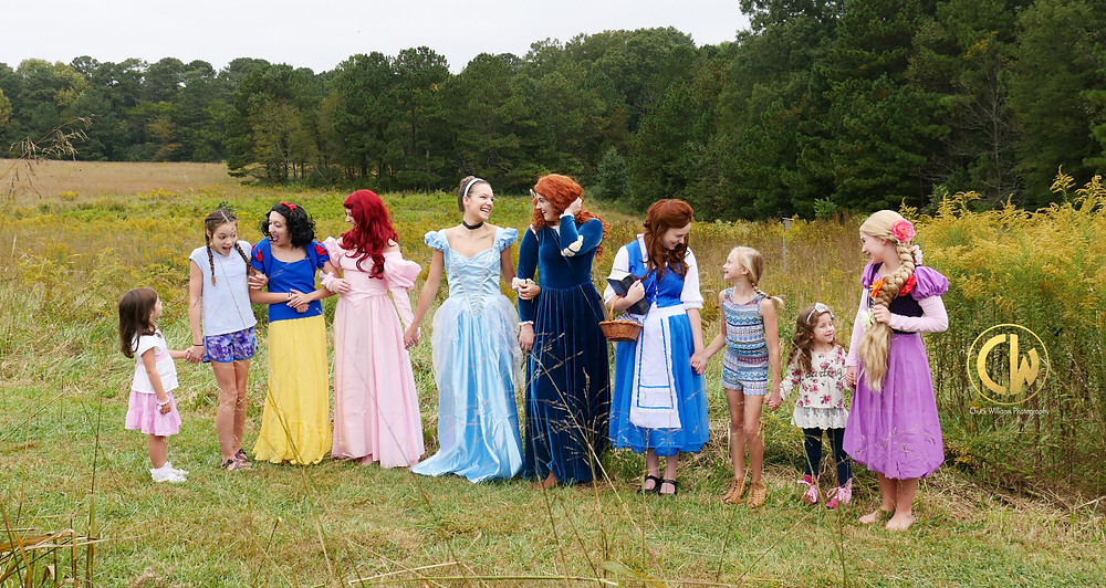 Marietta, Ga Teens are Fairytale Princesses available for parties and events