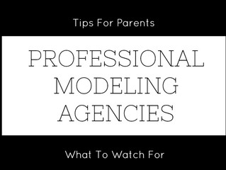The Truth About Professional Modeling Agencies - Tips For Parents