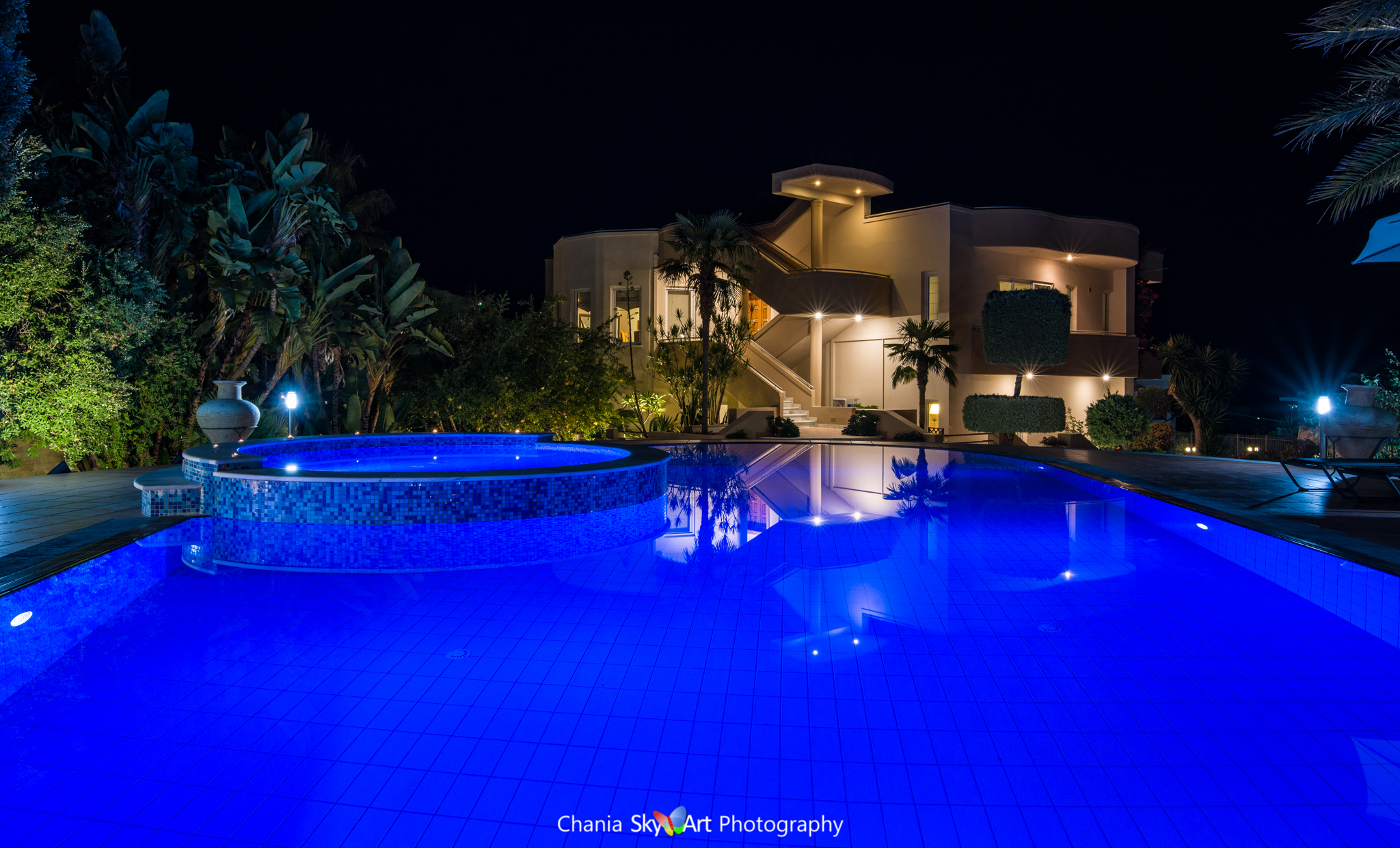 villa photography