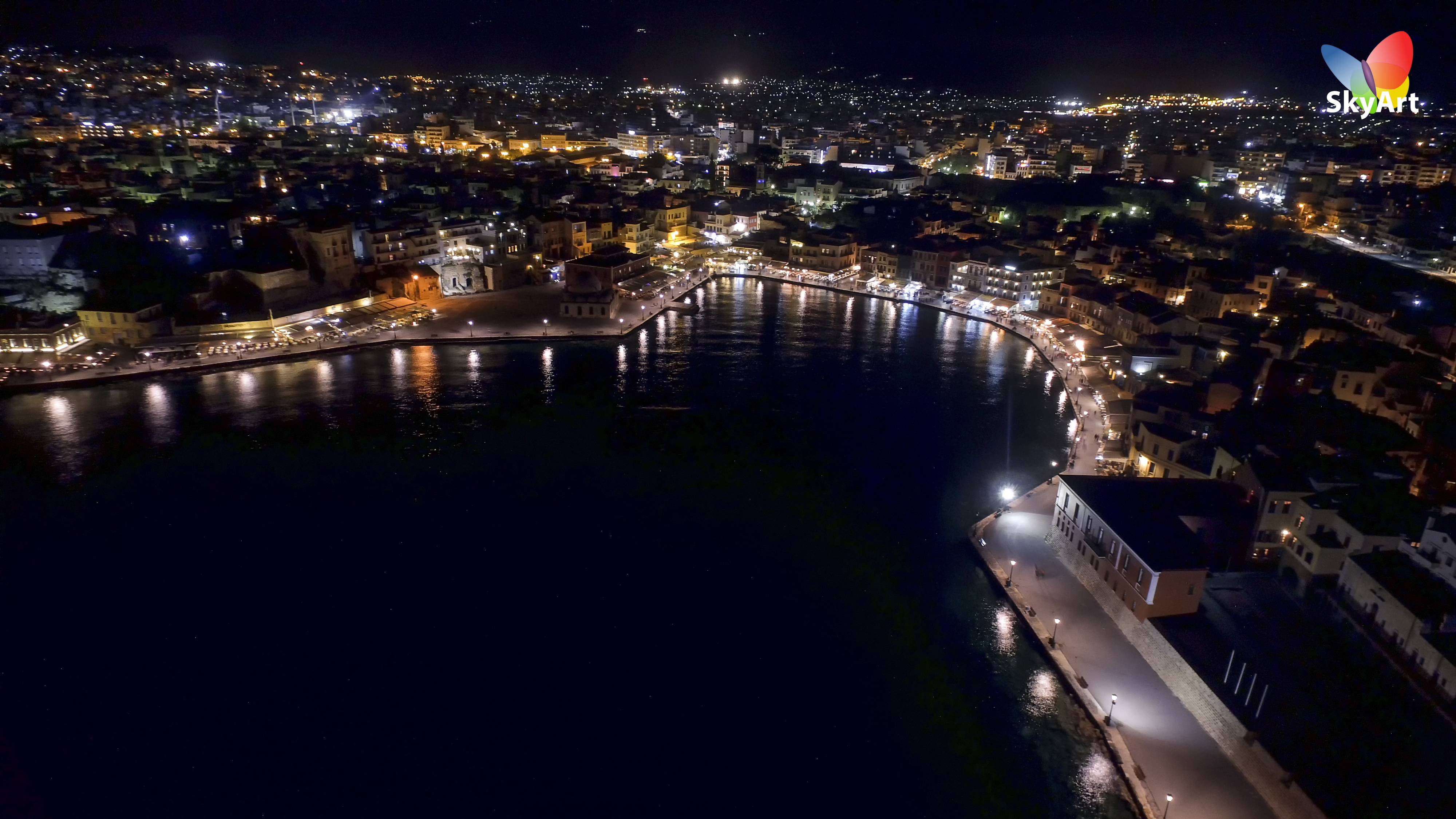 Chania by night 2