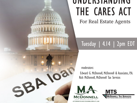 Join Us: Understanding the CARES Act for Real Estate Agents & Brokers