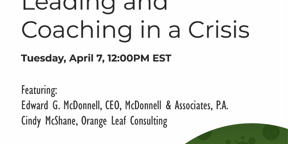 PropLogix Town Hall: Leading & Coaching in a Crisis