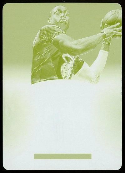 2013-14 Panini Immaculate ~ THE GREATEST YELLOW PRINT PLATE 1/1 ~ Dwyane Wade
