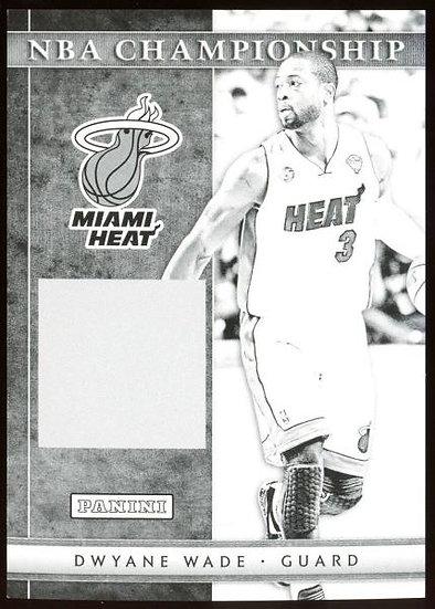 2012-13 Panini Black Friday ~ NBA CHAMPIONSHIP BLACK PROOF SP /5 ~ Dwyane Wade