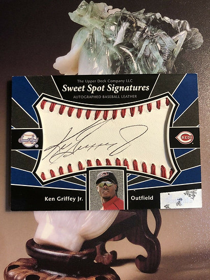 2004 UD Sweet Spot KEN GRIFFEY JR Auto #SS-KG Autograph Reds Mariners HOF