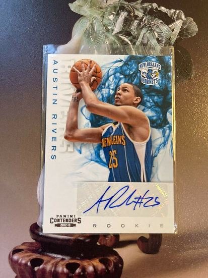 2012-13 Contenders Austin Rivers Auto RC SP Autograph Rookie Card Knicks