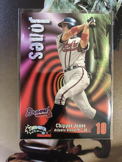 1998 Skybox Chipper Jones Circa Thunder Rave #10 #d /150 Braves Hof SP RARE!!!
