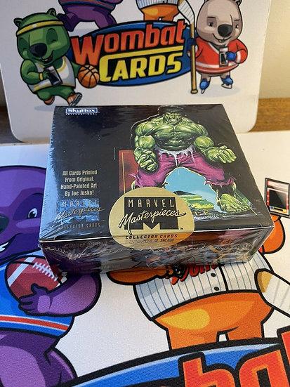 1992 Skybox Marvel Masterpieces 1st Series Factory Sealed Box -36 Pack Joe Jusko