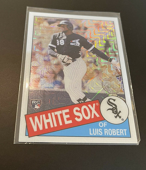 2020 Topps Silver Pack Luis Robert Mojo Refractor Rookie RC Rookie Card Chicago