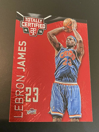 2014-15 Panini Totally Certified Lebron James Red Mirror Parallel #d/279 Lakers